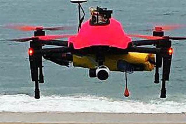 Drohnen sollen Ertrinkenden das Leben retten