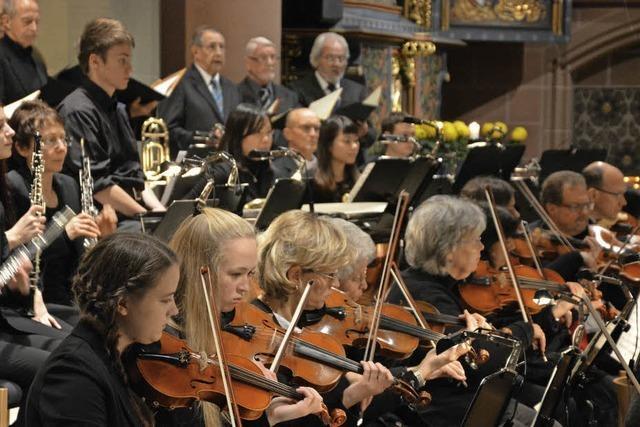Mit dem Sinfonischen Orchster in Titisee-Neustadt