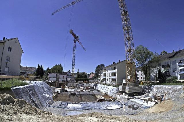 Startschuss für größeres Wohnbauprojekt