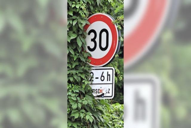 Eichsler Bürger fordern Tempo 30