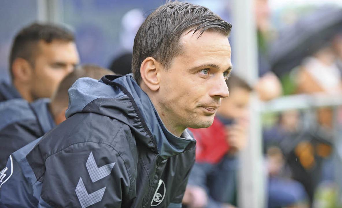 Von Erfurt nach Freiburg:  Christian P...zt die Zweite des SC in der Oberliga.   | Foto: Meinrad Schön