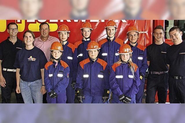 Die Kaderschmiede der Binzener Feuerwehr wird 25