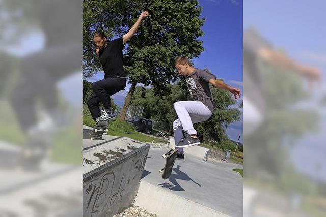 Offizielle Einweihung des Skaterparks in Windschläg