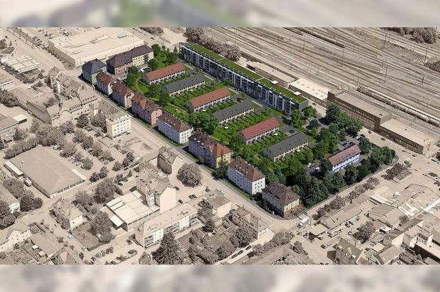 Neues Wohnquartier auf alten Gärten