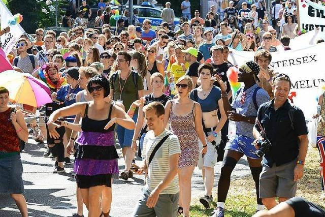 Das ist die Strecke der CSD-Parade in Freiburg