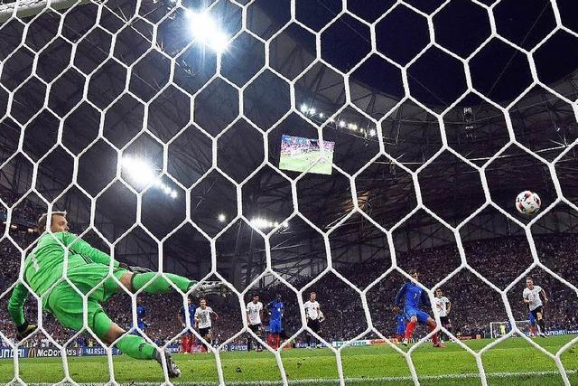 Heimfahrt statt Finale: Frankreich schlägt Deutschland mit 2:0