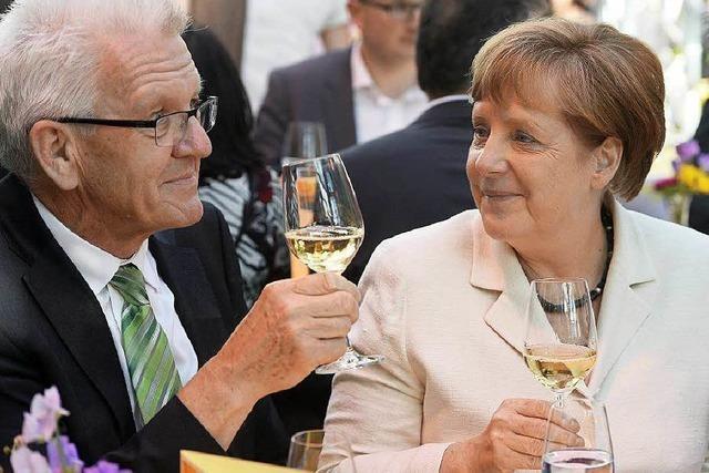 Zur Stallwächterparty in Berlin kommt die Kanzlerin