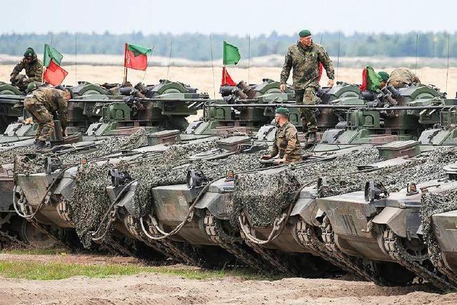 Nato-Gipfel: Mehr Symbolkraft als Schlagkraft