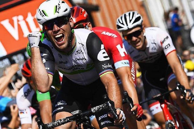 Cavendish zum Dritten: Marcel Kittel knapp geschlagen