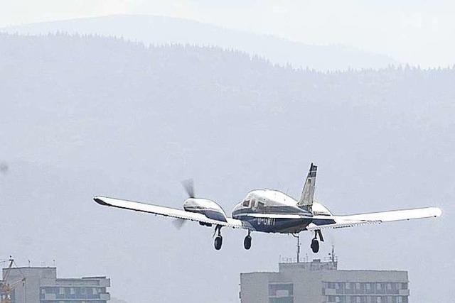 Neues SC-Stadion stört Flugbetrieb weniger als gedacht