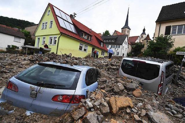 Hunderte Millionen Euro durch Unwetter im Frühsommer