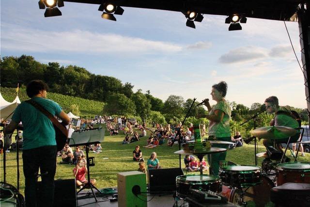 Weinklang-Festival mit einem Hauch von Woodstock