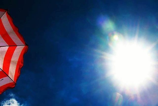 Südbaden: Herrliches Sommerwetter mit Schattenseiten