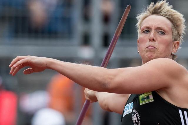 Christina Obergföll pokert um ihren Startplatz für Rio