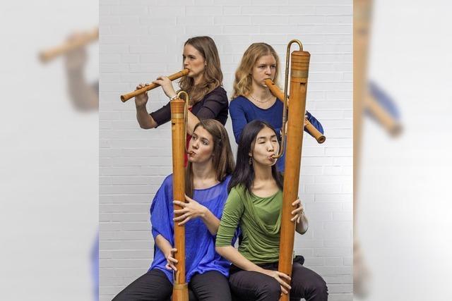 Flötenmusik aus fünf Jahrhunderten in der evangelischen Kirche