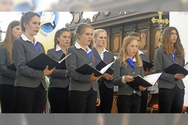 Neue Vokalklänge im Münster mit jungen Stimmen