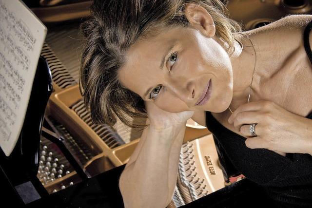 Die Pianistin Sonja Tuja spielt beim Ebneter Kultursommer