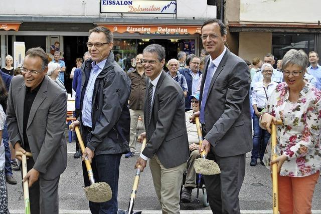 Oberkirch startet den Bau einer Fußgängerzone