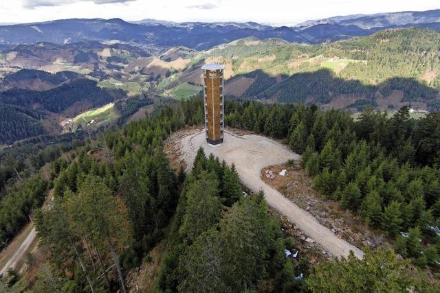 Auf dem Turmsteig zum Buchkopfturm