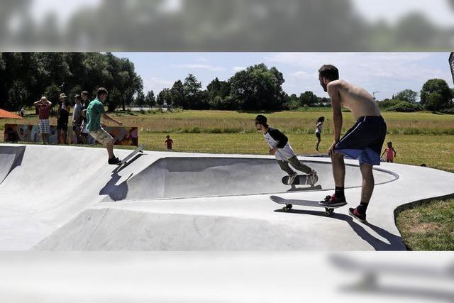 Skater-Landschaft aus einem Guss