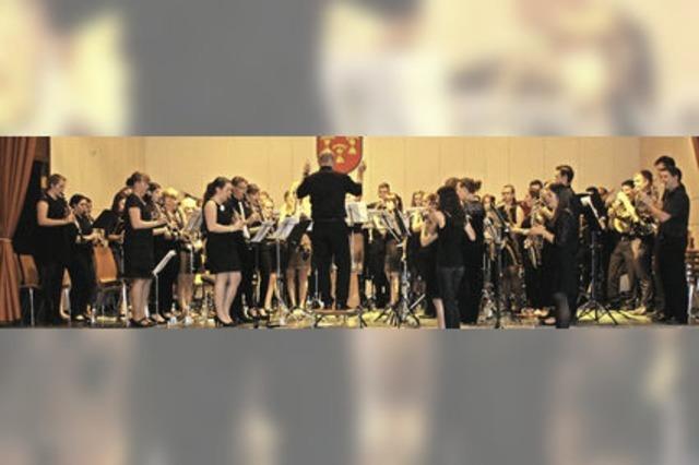 Die Jugend begeistert beim Konzert