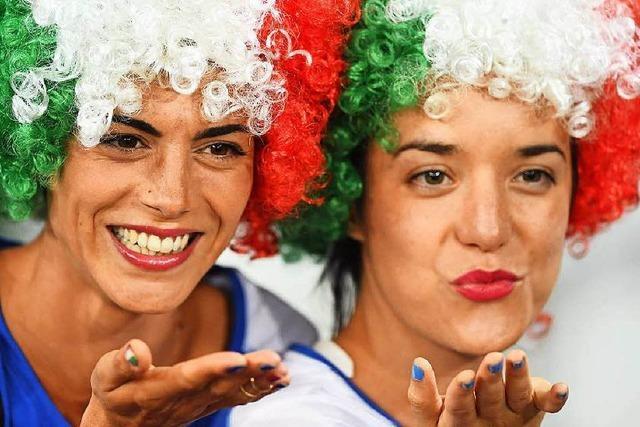 Fotos: Weibliche Fans bei der EM 2016 in Frankreich