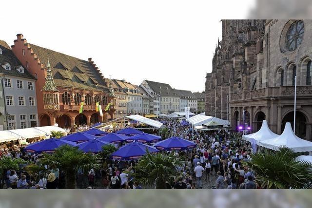 Weinfest rund ums Münster