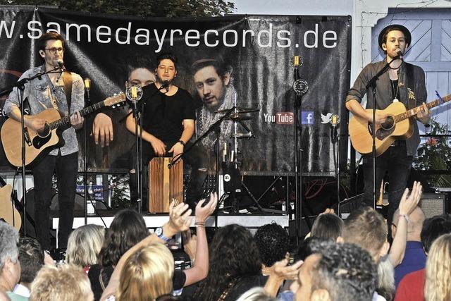 15 Vereine und Gäste feiern entspannt beim Städtlefest in Stühlingen