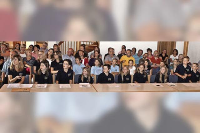 Grundschüler entwickeln Ideen für Pausenhof