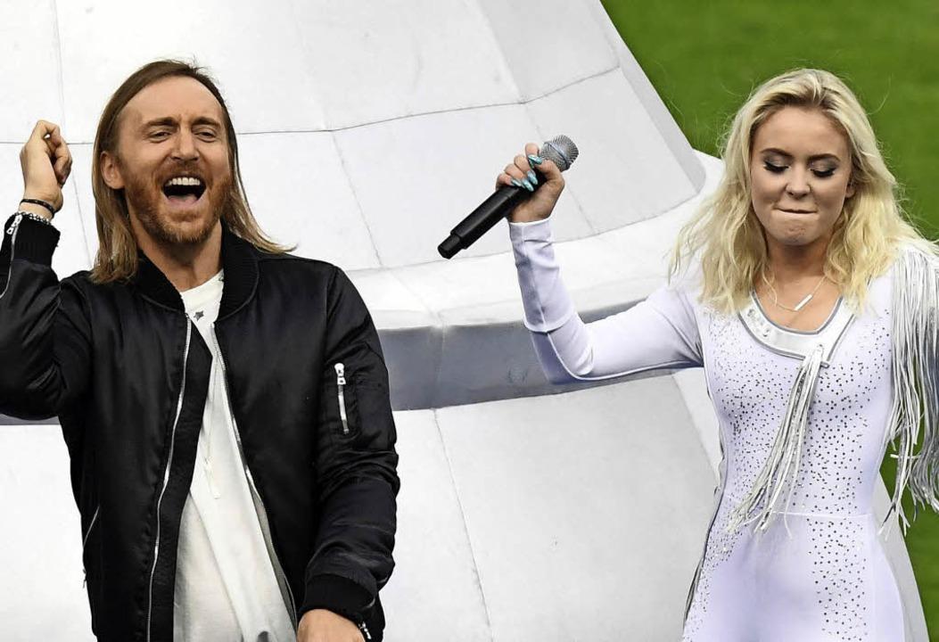 Guetta (li.) und Larsson   | Foto: AFP