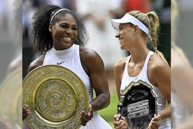 Kerber verliert im Wimbledon-Finale gegen Serena Williams