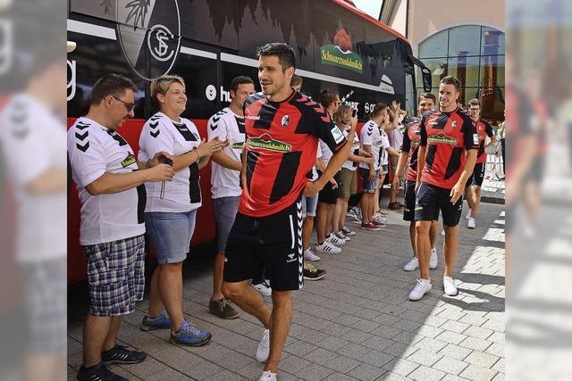 SC Freiburg lässt sich zwei Mal feiern