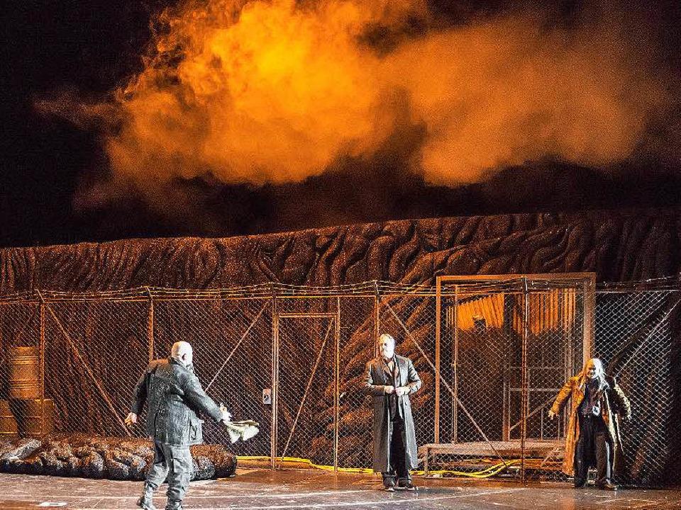 Rheingold Der Ganze Ring An Einem Abend Theater Badische Zeitung