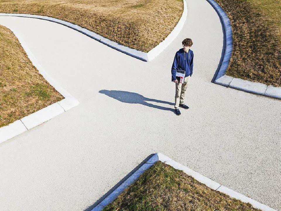 Die Entscheidung, in welche Richtung d..., fällt manchen Schulabgängern schwer.  | Foto: dpa-tmn