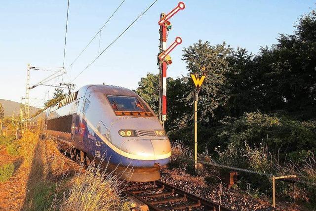Bahn sperrt Zugstrecke zwischen Müllheim und Mulhouse