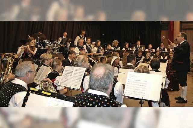 140-Jahrfeier des Musikvereins Menzenschwand in Menzenschwand