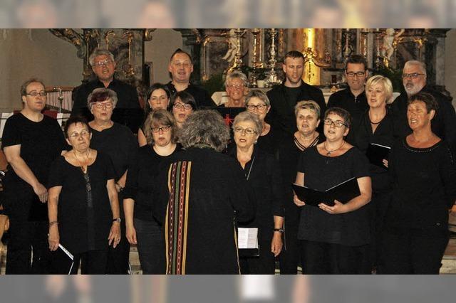 Klassik und Gospelklänge im Gotteshaus