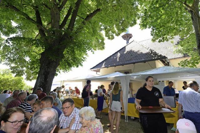 300 Jahre St.-Erentrudis-Kapelle - Käppelefest mit Besucherrekord