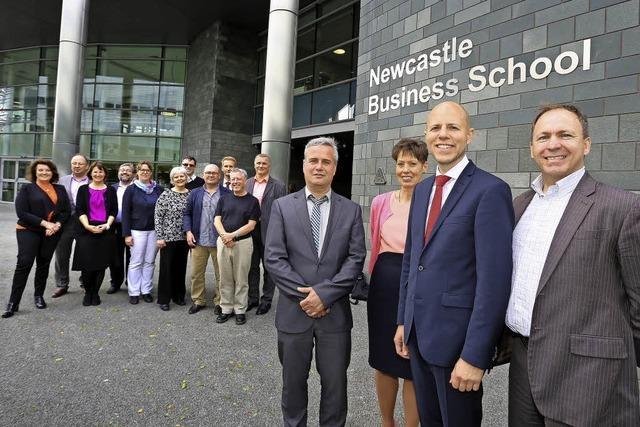 Hochschule kooperiert mit Northumbria University