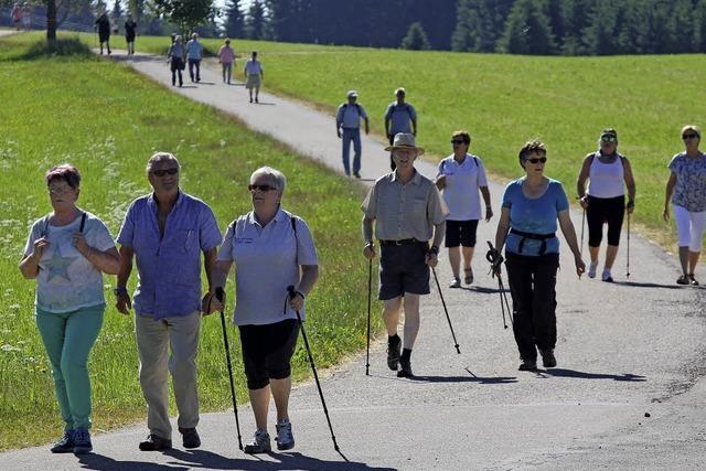 Teilnehmerrekord bei den Wandertagen