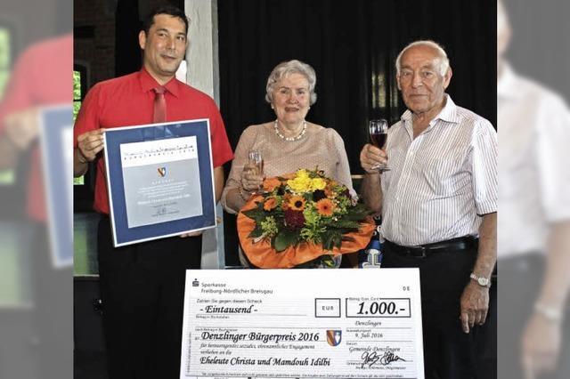 Bürgerpreis für engagiertes Ehepaar