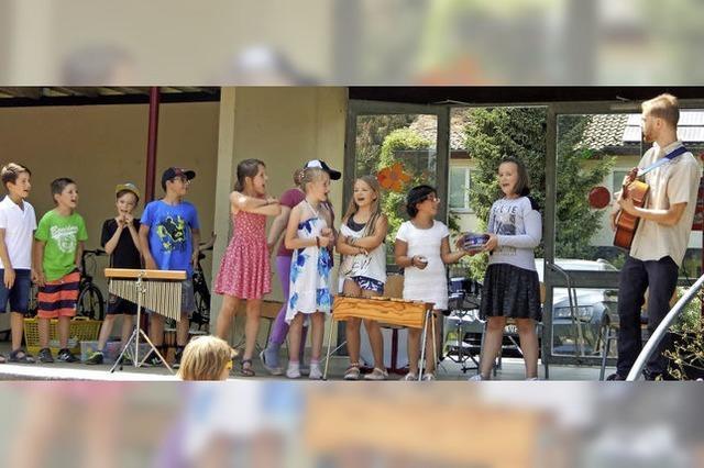 Schüler verdienten sich als Entertainer Bestnoten