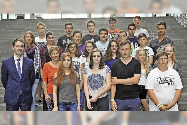 Schlüchttalschüler zu Gast in Berlin