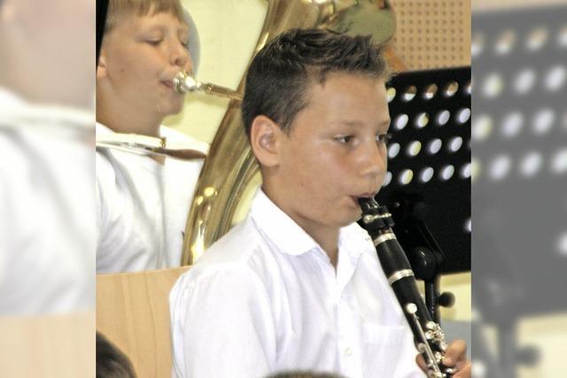 Nachwuchs beim Musikverein Öflingen