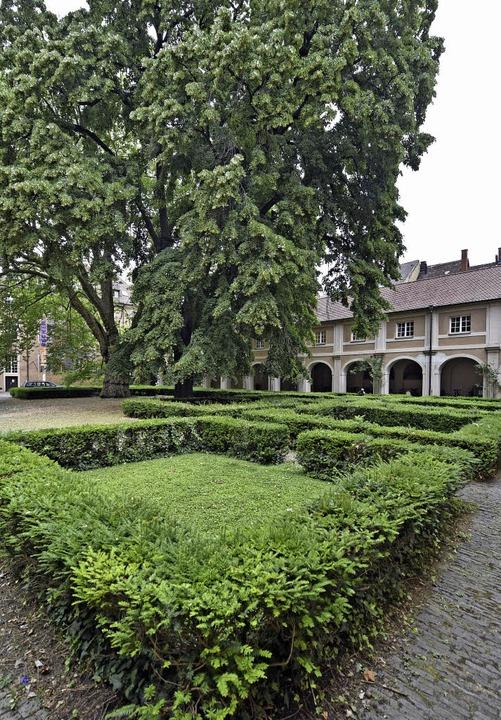Auch im Innenhof der Alten Uni soll es ab und an Literaturveranstaltungen geben.  | Foto: Michael Bamberger