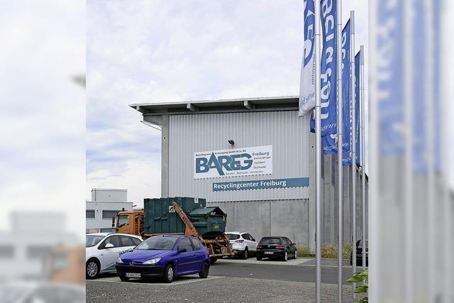 Entsorgungsunternehmen Bareg verlegt Hauptsitz von Emmendingen nach Freiburg
