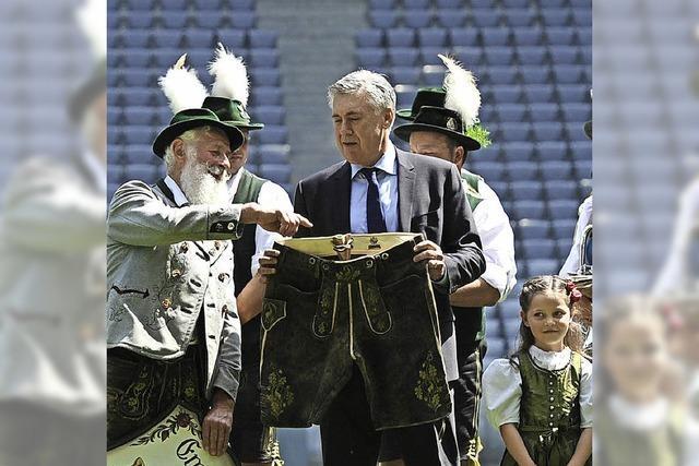 FC Bayern stellt Trainer Carlo Ancelotti vor