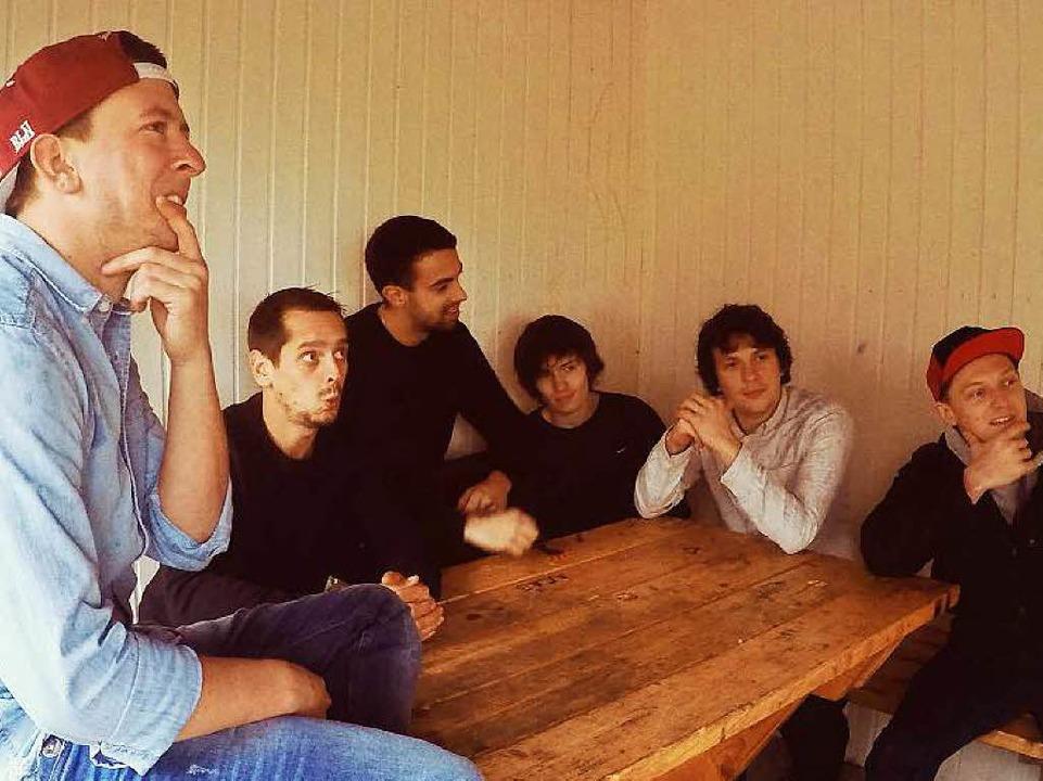 Stellen am Freitag  ihr neues Album vo... Dominik Büchele (Zweiter von rechts).  | Foto: privat