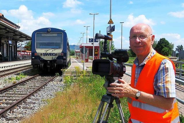 Neuenburger Bahnexperte dreht Film über Kaiserstuhlbahn