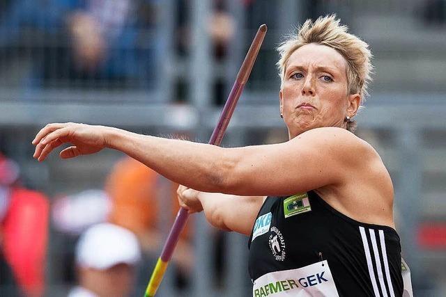 Christina Obergföll fliegt mit nach Rio